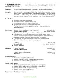 Cover Letter Sample Resume For Warehouse Assistant Manager Job And R RS Geer