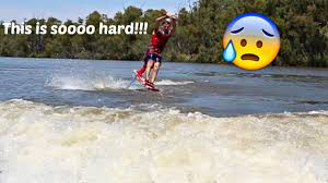 airchair hydrofoil fail youtube