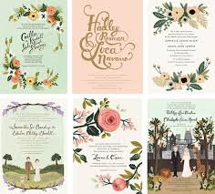 Rustic Country Wedding Invitation Cards Idea