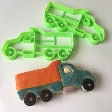 100 Dump Truck Cookie Cutter Construcion Vehicle Set Etsy