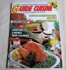 guide cuisine recettes guide cuisine n 2 40 recettes format de poche 1983