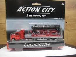 100 Action Truck RealToy City Semi Trailer With Locomotive 18290b EBay
