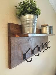best 25 wall shelf with hooks ideas on pinterest bathroom towel