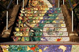 16th Avenue Tiled Steps Project by The 16th Avenue Tiled Steps Project Bored Panda