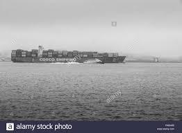 100 Shipping Containers San Francisco COSCO SHIPPING Container Ship CSCL BOHAI SEA Departing