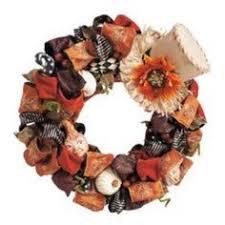 Grandin Road Halloween Wreath by 23