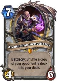 archbishop benedictus hearthstone card