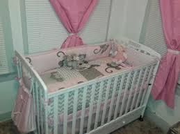 Burlington Crib Bedding by Curvimamipetite Arielle U0027s Pink And Gray Chevron Nursery Tour