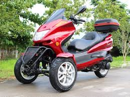 3 Wheel 150cc Roadster Trike Scooter