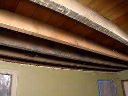 100 Beams On Ceiling How To Install A Tin And Beam HGTV