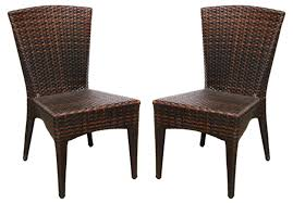 Cheap Patio Chairs At Walmart by Outdoor Patio Furniture Black Pe Wicker Dining Chair Folding Patio