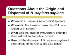 chapter 11 sapiens sapiens chapter outline the origin and