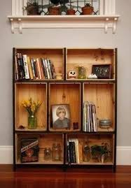 Wooden Milk Crates Home Depot Bookcase Wood Crate Bookshelf Shelves Wine Super Awesome Idea I Have Friends Who Buy The Empty Win