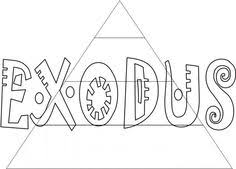 Bible Coloring Pages For Kids Free Printable Books Of The Exodus