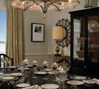 Dining Room Candles Traditional With Wall Decor Buffet