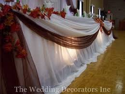 White Decor Brown Fall Table Rustic Head The Wedding