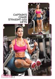 Hanging Leg Raisescaptains Chair Abs by 8 Killer Core Moves Fitnessrx For Women