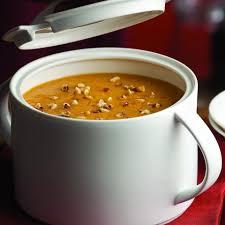 Spicy Pumpkin Butternut Squash Soup by Roasted Pumpkin Apple Soup Recipe Eatingwell