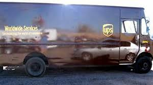 One Ton Of Ganja Found In Fake UPS Truck
