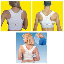 magnetic posture support corrector back pain young belt brace