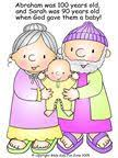 Abraham Sarah And Baby Isaac Story Pages Bulletin Board Pictures Coloring Crafts