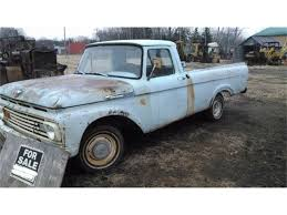100 Ford Unibody Truck For Sale 1961 F100 For ClassicCarscom CC1119553