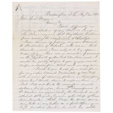 Lincoln Assassination Letter