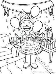 Party Celebration Clipart Birthday Celebration Clipart Black And