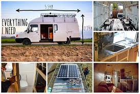 DIY Camper Rusty Van To Cosy Home