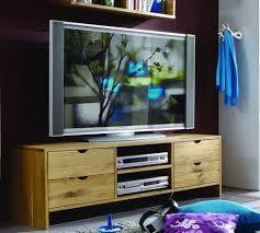 massivholz fernsehtisch asteiche natur geölt tv bank tv kommode