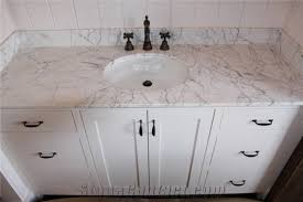 Carrara White Marble Bathroom Vanity Tops Carrara White Marble