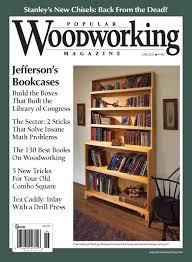 june 2011 190 popular woodworking magazine