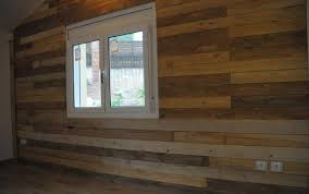 DIY Paneling Walls With Pallet Wood Via 101palletideas