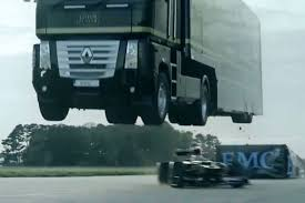 Watch Transporter Truck Sail Over Speeding Race Car As Huge Vehicle ... Volvo Truck Tests A Hybrid Vehicle For Long Haul Man Bus On Twitter We Showed You The Shortest Double Worlds Longest Monster Truck To Hit Trade Show Circuit Medium Jump Record Archives Biser3a Motor Wikipedia Teslas Electric Is Comingand So Are Everyone Elses Wired The Worlds Tallest Concrete Pump Put Scania In Guinness Book Of Effer Knuckle Boom Crane Maxilift Australia Hot Wheels Jump Action Vehicle Eeering Missile Semi Trucks Heavyduty Available Models Ram Sets World Record With Longest Pickup Parade News