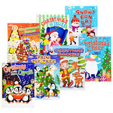 Bulk Jumbo Christmas Coloring And Activity Books At DollarTree