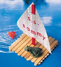 Especially During Rainy Days The Ice Cream Stick Boat Will Be A Great Way To Spend Time With Your Lil One