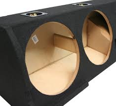 100 Truck Subwoofer Boxes 20012003 Ford F150 Crew Cab Dual 12 Custom Fit Sub Box