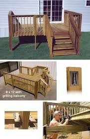 mobile home deck gallery home modular wood deck kits 8 x 12