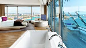 100 The W Hotel Barcelona Spain Black Platinum Gold