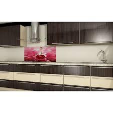 spritzschutz küchenrückwand fliesenspiegel glas nach maß kirsche