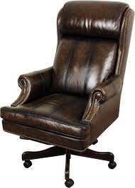 Darby Home Co Corey Genuine Leather Executive Chair & Reviews   Wayfair Classic Leather Executive Office Chair Rapid Fniture Shop Highback Traditional Tufted Osp Black Bonded With Wood Trim L Amazoncom Halter Hal007 Eames Style Cream Faux Mulberry Moon Made For Comfort Ez Brown Taupe 500lb High Back Go2092m1tpgg Bizchaircom Staples Giuseppe Ea119 Chair Design Seats Buy Designer Flow Hon Atwork Canada