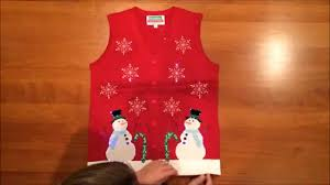 Leg Lamp Christmas Sweater Diy by Lighted Winter Wonderland Ugly Christmas Sweater Vest By Festified