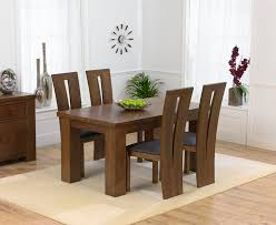 Dark Oak Dining Table