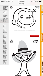 Peppa Pig George Pumpkin Stencil by Pbs Kids Vip U2013 The Next Kid Thing