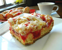 Mystery Lovers Kitchen Insanely Easy Cherry Streusel Coffee Cake