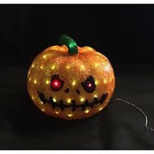 80 Light White LED Decorative Pumpkin