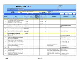 New Project Management Report Template Excel Or Gap Analysis