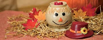 Pumpkin Scentsy Warmer 2013 by Scarecrow Scentsy Warmer Warmer Of The Month October Fall