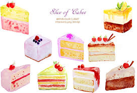 Realistic clipart cake 15