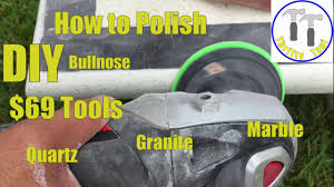 $69 DIY How to Polish a Quartz Granite or Marble Countertop